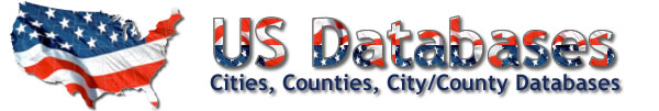 us databases cities counties database
